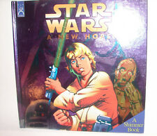 Star Wars  A New Hope Shimmer Book childrens story book.  cool 914