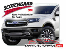 2019 Ford Ranger XLT Lariat 3M Pro Series Clear Bra Bumper Paint Protection Kit