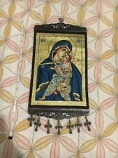 Woven Religious tapestry wall hanging orthodox catholic icon Style 177