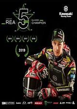 "Jonathan REA ""5 in a Row"" World SBK CHAMPION A3 Print WSB MOTOgp Isle of Man TT"