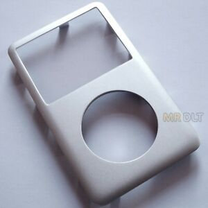 New Silver iPod Classic Front Cover 6th 7th Metal Replacement Housing Face A1238