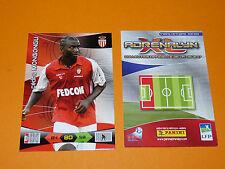 MONGONGU AS MONACO LOUIS II  FOOTBALL FOOT ADRENALYN CARD PANINI 2010-2011