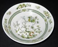 """Royal Doulton, TONKIN, Green Indian Tree Design, Soup or Cereal Bowl, 6 3/4"""""""