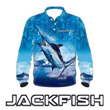 JACKFISH Marlin Long Sleeve Fishing Shirt - ADULT UPF SZ S,M,L,XL, 2XL,3XL