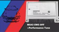 01-03 Bmw E46 325i E39 525I Dme Ms43 Ecu No Ews + 10hp Tune (Immo Delete)
