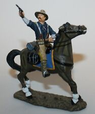 King & Country RR08 Teddy Roosevelt Mounted Horse Retired Rough Riders