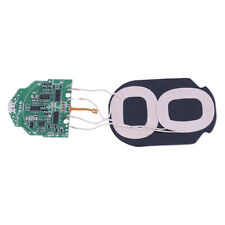 1Pc 10W Qi fast charging wireless charger PCBA circuit board with dual 2 coilsEL