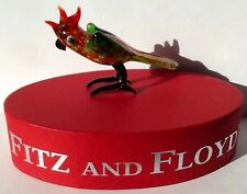 Fitz And Floyd Glass Menagerie Limited Edition Petey Bird Parrot Figurine