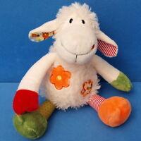 MORGENROTH SCHAF LAMM STOFFTIER SCHLENKER 30 CM SHEEP BLUME TEDDY