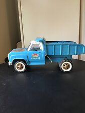 Vintage Blue White Tonka Hydraulic Dump Truck  #13190.