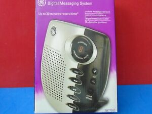 GE Digital Messaging System 29871GE3 30 Mins Record Time New & Sealed