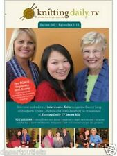 NEW! Knitting Daily TV Series 800 Episodes 1-13  With Eunny Jang [DVD]