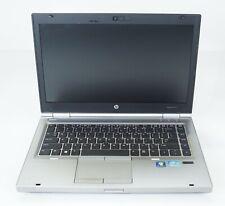 """HP EliteBook 8470p 14"""" Intel i7-3540M 3GHz 4GB DDR3 Fair No HDD DVD BATT"""