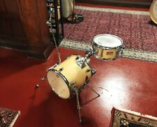 Yamaha & Groove Percussion Custom Mini Traveler Style Drum Kit Natural Lacquer