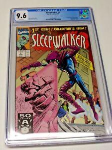 Sleepwalker #1 CGC 9.6 NM+ 1991 1st Appearance of Sleepwalker Very Hot Comic