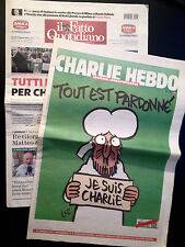 CHARLIE HEBDO _ IL FATTO QUOTIDIANO 15-01-15 TOUT EST PARDONNE' je suis charlie