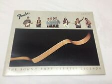 1982 January FENDER Musical Instruments 41 page product catalog - MINTY - CBS