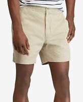 NWT MEN'S SZ L POLO RALPH LAUREN STRETCH CLASSIC FIT BSR CHINO Khaki SHORTS
