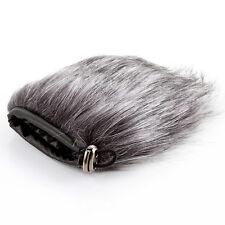 9cm Microphone Windshield Fur Wind Muff Noise Windscreen For Camera Recorder New