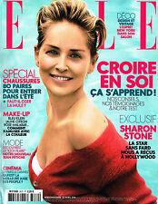 ELLE France 22 April 2016 SHARON STONE Giedre Dukauskaite LARY MULLER @New@