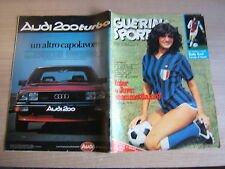 GUERIN SPORTIVO=N°37 (303) 1980=I KISS=CARL ZEISS JENA=RUDY KROL=LUCIO DALLA