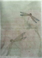 RICE DECOUPAGE PAPER / DRAGONFLY / CRAFT PAPER / DECOUPAGE SHEETS SCRAPBOOKING