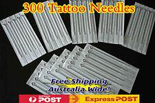 300 x Assorted Tattoo Needle  OZ STOCK