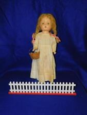 "Antique American Character Composition Doll Petite Sally 19"" T 1930'S"