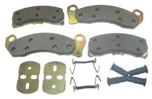 AutoSpecialty 20-499-52 Super Kit Premium Semi-Metallic Brake Pads