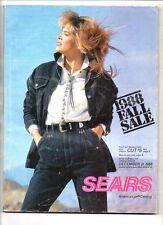 Sears fall sale catalog 1988
