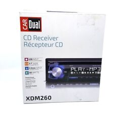 DUAL AM/FM CD Car Receiver WMA MP3 USB (XDM260) - NEW ™