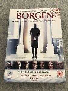 Borgen - The Complete First Season DVD Box Set 2012