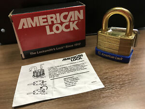 Vintage American Lock Resettable Combination Padlock, Model #RS440, NOS