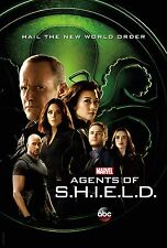 Marvel Agents of Shield Season 4 TV Poster (24x36) - Ghost Rider, Hydra