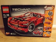 Lego Technic 8070 Supercar Retired Set - 100% Complete - Excellent Condition