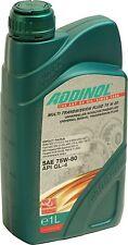 ADDINOL Multi Transmission Fluid 75W-80 1 Liter Universal Getriebeöl API GL4 1L