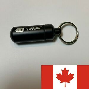 Mini Portable Storage Keychain Pills Money Cash Stash Secret Medicine Bottle