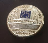 DOEHLER JARVIS  -25 YEAR SERVICE PIN - NATIONAL LEAD COMPANY Toledo Ohio FACTORY