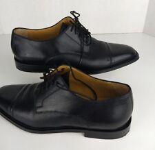 Johnston & Murphy Black CapToe Oxford Shoes Size 10 M 150671