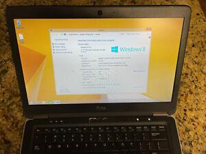 Dell Latitude E7440-500GB HD, i5, 8GB RAM, Win 8.1 Pro, No Charger!