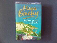 | @Oz |  NIGHTS OF RAIN AND STARS By Maeve Binchy (2004), Large HC