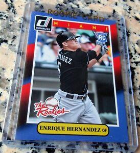 ENRIQUE KIKE HERNANDEZ 2014 Donruss Rookie Card RC Logo 2020 WS Champs Dodgers $