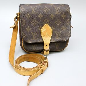 LOUIS VUITTON MINI CARTOUCHIERE Crossbody Shoulder Bag Monogram M51254 JUNK