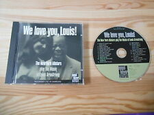 CD Jazz New York Allstars - We Love You Louis! (18 Song) NAGEL HEYER Armstrong