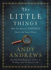 THE LITTLE THINGS - ANDREWS, ANDY - NEW HARDCOVER BOOK