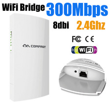Comfast 300Mbps 2.4Ghz Outdoor Wireless Access Point WiFi Wireless Bridge Ap 1Km