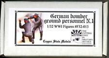 Copper State Models 1/32 GERMAN WWI BOMBER GROUND PERSONNEL 2-Figure Set