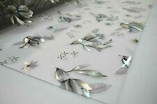 Tischdecke Tischfolie PVC Schutzfolie 90 cm Breite mit Muster  1,7 mm Meterware
