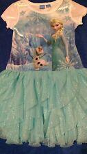 Disney Girls Size M (7/8) Frozen Tutu Dress