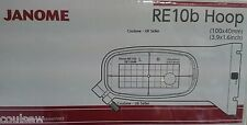 JANOME 400E & 500e Embroidery Extra Hoop Small RE10b 100x40mm Genuine 864407003